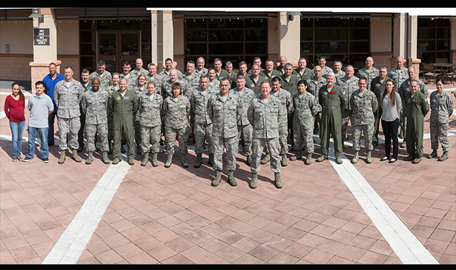 Tenth Air Force Commanders and Command Chiefs Conference