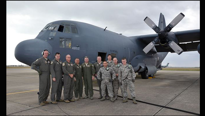 Air Force's first HC-130 takes its final flight